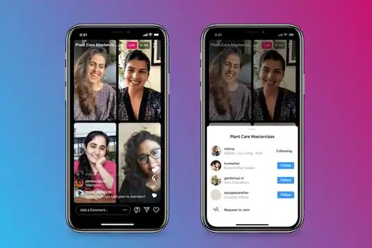 As Clubhouse Gains Popularity, Instagram Expands Live Rooms Capacity to Four People